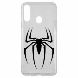 Чехол для Samsung A20s Spider Man Logo