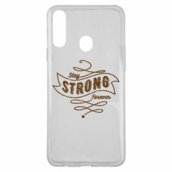Чохол для Samsung A20s Stay strong forever