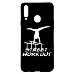 Чохол для Samsung A20s Street workout