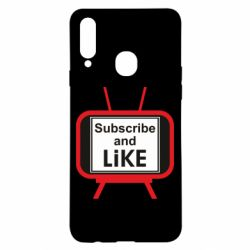 Чохол для Samsung A20s Subscribe and like youtube