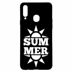 Чехол для Samsung A20s Summer and sun