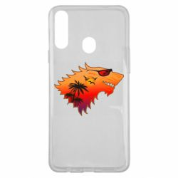 Чехол для Samsung A20s Summer Wolf with glasses Game of Thrones