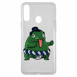 Чехол для Samsung A20s Sumo toad