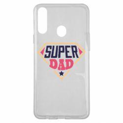 Чехол для Samsung A20s Super dad text