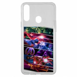 Чехол для Samsung A20s Super power avengers