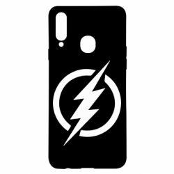 Чохол для Samsung A20s Superhero logo