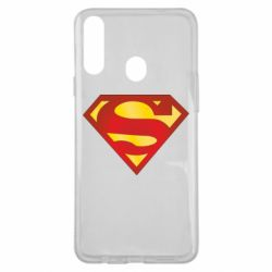 Чехол для Samsung A20s Superman Classic