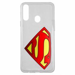 Чехол для Samsung A20s Superman Logo