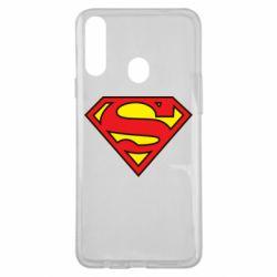 Чехол для Samsung A20s Superman Symbol