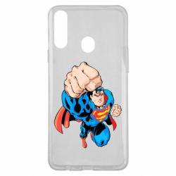 Чохол для Samsung A20s Супермен Комікс