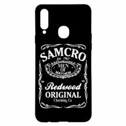 Чохол для Samsung A20s Сини Анархії Samcro
