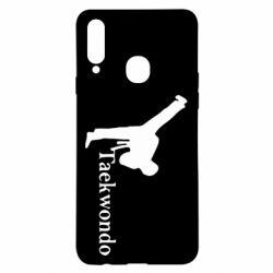 Чехол для Samsung A20s Taekwondo