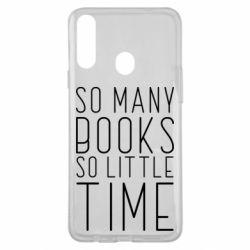 Чохол для Samsung A20s Так багато книг так мало часу