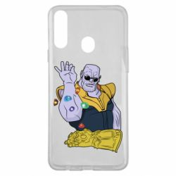 Чохол для Samsung A20s Thanos Art