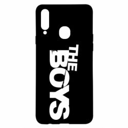 Чехол для Samsung A20s The Boys logo
