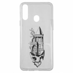 Чохол для Samsung A20s The castle is on the skull