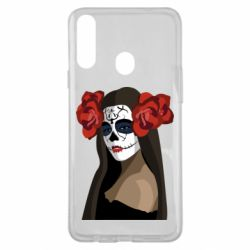 Чохол для Samsung A20s The girl in the image of the day of the dead