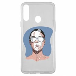 Чохол для Samsung A20s The girl is doused with milk