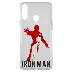 Чехол для Samsung A20s The Invincible Iron Man