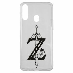 Чехол для Samsung A20s The Legend of Zelda Logo