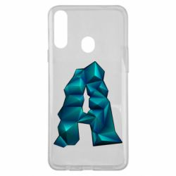 Чехол для Samsung A20s The letter a is cubic