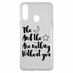 Чохол для Samsung A20s The moon and the stars are nothing without you