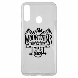 Чохол для Samsung A20s The mountains are calling must go