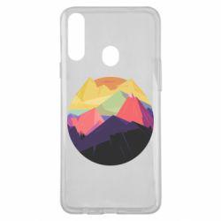 Чехол для Samsung A20s The mountains Art