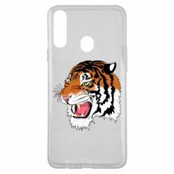 Чохол для Samsung A20s Tiger roars