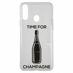 Чохол для Samsung A20s Time for champagne