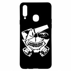 Чохол для Samsung A20s Tokyo Ghoul mask