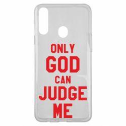 Чохол для Samsung A20s Тільки Бог може судити мене