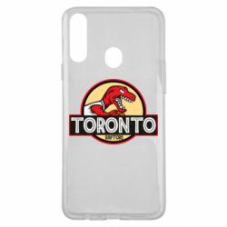 Чехол для Samsung A20s Toronto raptors park