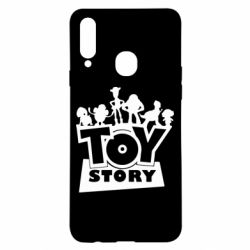 Чехол для Samsung A20s Toy Story and heroes