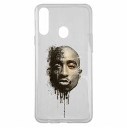 Чехол для Samsung A20s Tupac Shakur