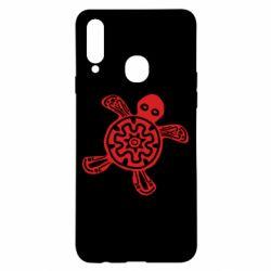 Чохол для Samsung A20s Turtle fossil