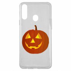 Чохол для Samsung A20s Тыква Halloween