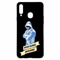 Чохол для Samsung A20s Ukraine Hooligans