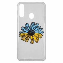 Чехол для Samsung A20s Українська квітка