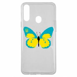 Чохол для Samsung A20s Український метелик