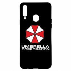 Чехол для Samsung A20s Umbrella