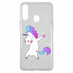 Чехол для Samsung A20s Unicorn swag