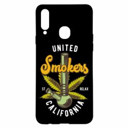 Чохол для Samsung A20s United smokers st relax California