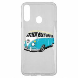 Чехол для Samsung A20s Vector Volkswagen Bus