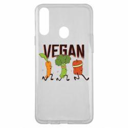 Чохол для Samsung A20s Веган овочі