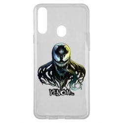 Чехол для Samsung A20s Venom Bust Art