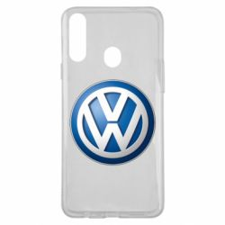 Чохол для Samsung A20s Volkswagen 3D Logo