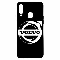 Чохол для Samsung A20s Volvo logo