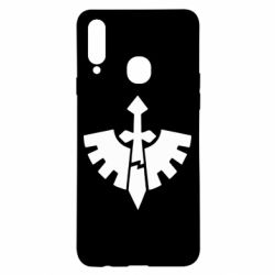 Чехол для Samsung A20s Warhammer 40k Dark Angels
