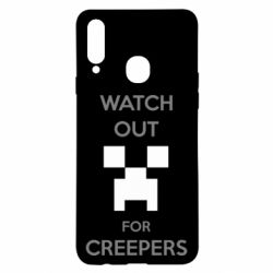 Чехол для Samsung A20s Watch Out For Creepers
